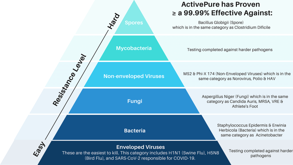 Hierarchy of Pathogens